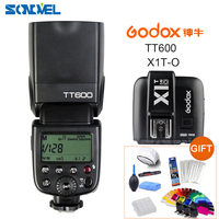 Godox TT600 2.4G Wireless Camera Flash Speedlite + X1T O TTL 1/8000s 2.4G Wireless Trigger Transmitter for Olympus Panasonic