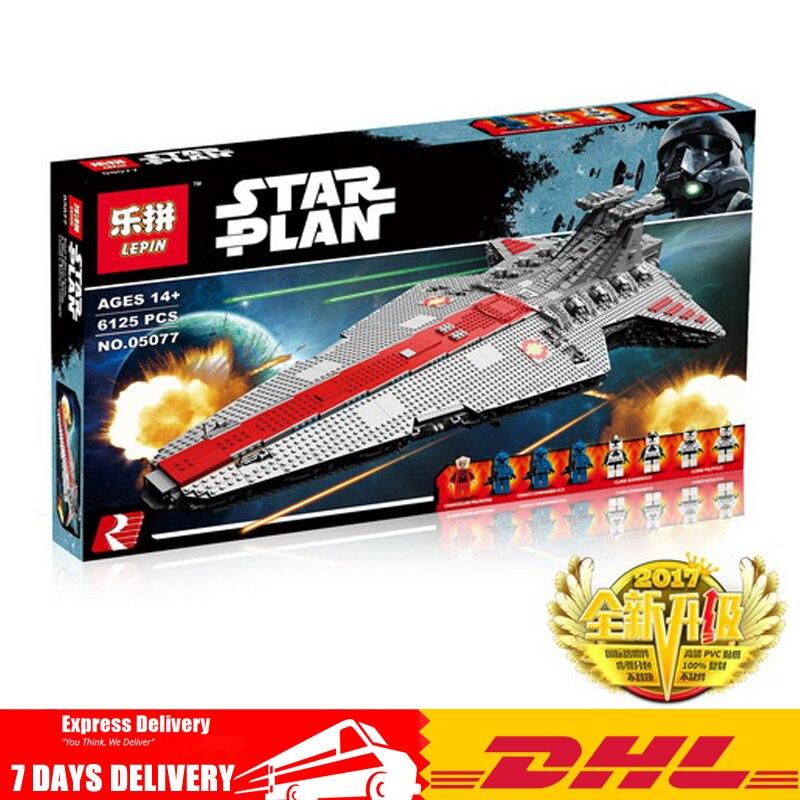 En STOCK Lepin 05077 6125 pièces l'ucs Rupblic étoile destructeur croiseur Compatible Legoinglys ST04 Set blocs de construction briques jouets