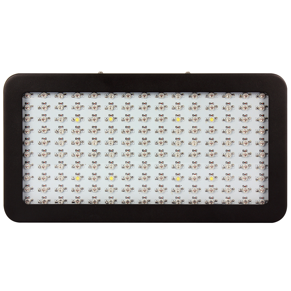 Full Spectrum Double Chip 1500W Led Grow Light Hydroponic leds Blue+Red+White+IR+UV Led Panel Grow Light Lamp AC85-265V  indoor new 8 band 50w 100w 50 2w grow light led chip full spectrum led red blue uv ir white for indoor plant seeding growing flower