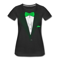 Summer Casual Man T Shirt Good Quality St Patrick S Day Tuxedo O Neck Short Sleeve