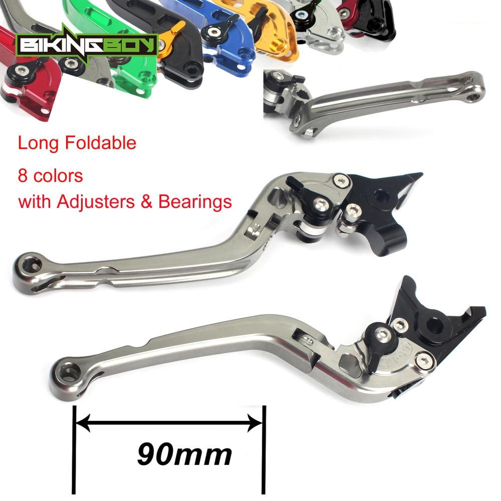 Adjustable Long Folding Clutch Brake Levers for HONDA VTR RVT 1000 SP1 SP2 00 01 02