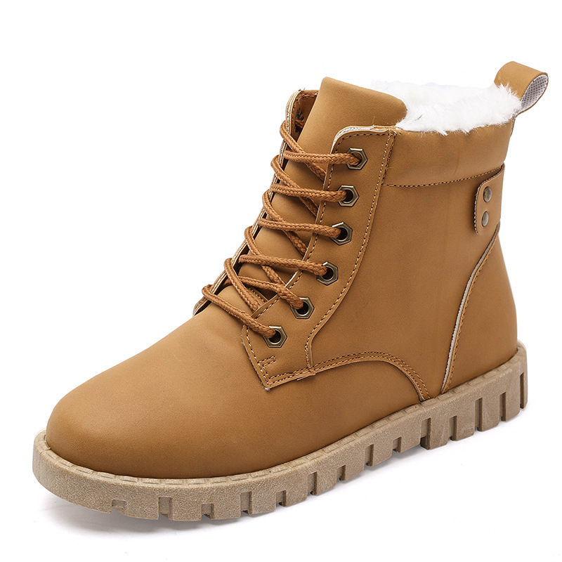 2018 Winter Women Shoes Snow Boots Ankle Martin Boots