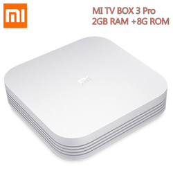 Original Xiaomi Mi TV Box 3 Pro Enhanced Version Android 5.1 Wifi Bluetooth 4.1 Smart 4K HD 2G/8G Dual Core 64bit 4K OTT Box