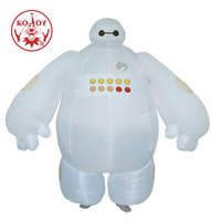 Halloween Costume For Women Men BIG HERO 6 Cosplay Inflatable Baymax Costume Adult Fancy Dress Costumes