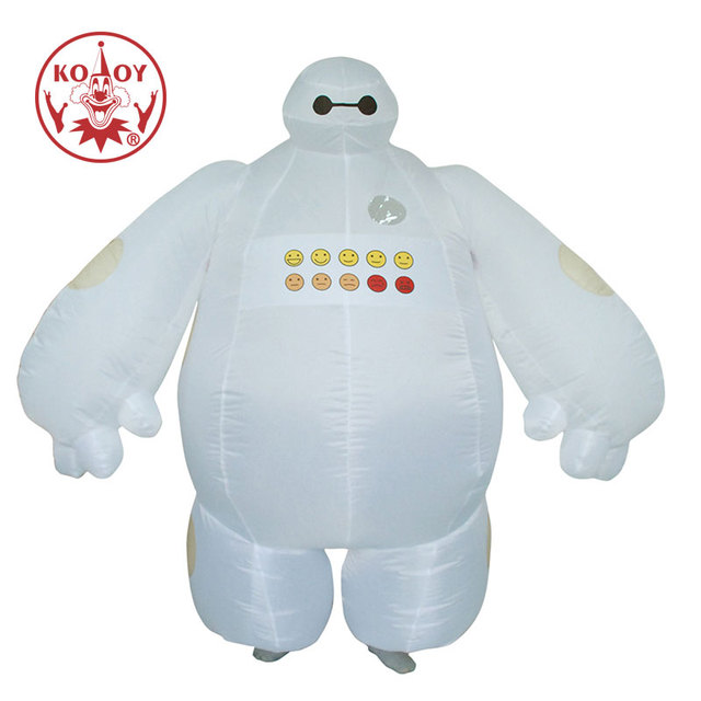 Inflatable Baymax Costume Adult Halloween Costume For Women Men Big