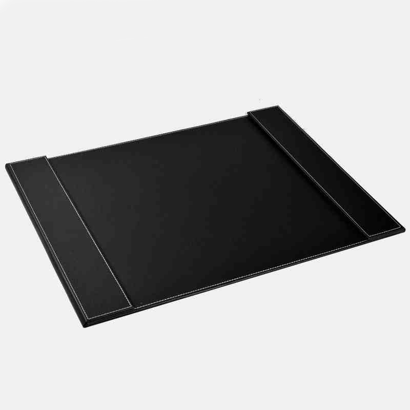 ФОТО (2 Pieces/Lot) Good Quality Leather Office Desk 60*45CM File Paper Clip Drawing & Writing Board Tablet Brown And Black Mix