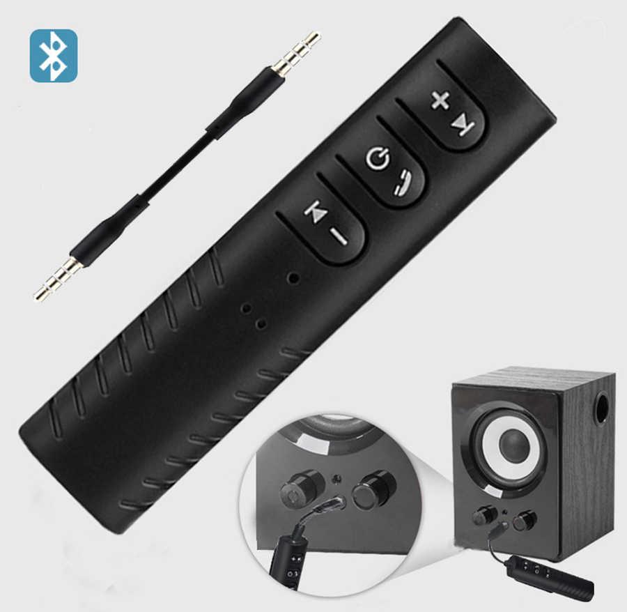 Ty pierwszy bezprzewodowy Adapter Bluetooth odbiornik Bluetooth 4.1 Audio AUX Adapter 3.5mm muzyka zestaw samochodowy do głośnik słuchawki samochodowe PC
