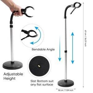 Image 5 - Supporto per asciugacapelli per nave libera supporto per asciugacapelli per animali domestici a mani libere altezza/angoli supporto per soffiaggio regolabile sul pavimento