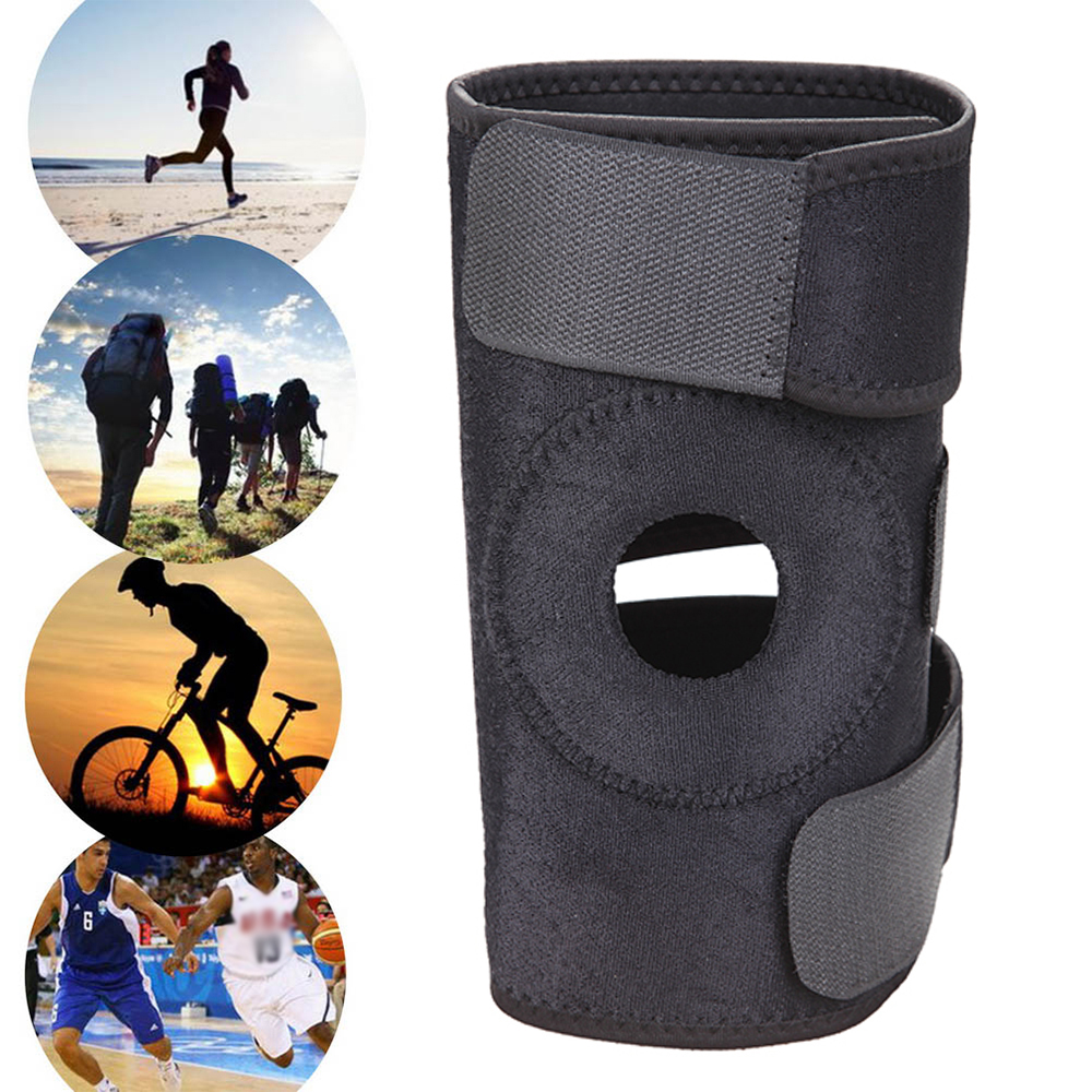 Protective Gear Adjustable Kneepads Sports Leg Knee Support Brace Wrap Knee Protector Pads Sleeve Cap Safety Knee Brace For Basketball