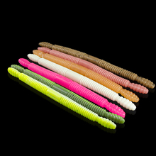 8pcs 14cm Lifelike Earthworm Fishing Lures 7g Fishy Smell Soft Silicone Baits Sinking Fish Worms Artificial Tackle Pesca