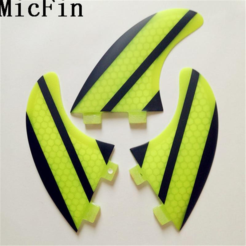 FCS G5 Fin Surf fiberglas Honeycomb karbon Fins Quilhas - Su idmanı - Fotoqrafiya 3