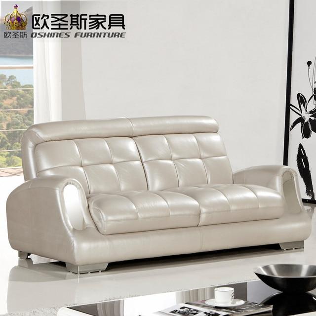 Super 2017 nouveau design italie Moderne en cuir canapé, doux  MX28