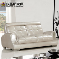 2017 New Design Italy Modern Leather Sofa Soft Comfortable Livingroom Genuine Leather Sofa Real Leather Sofa