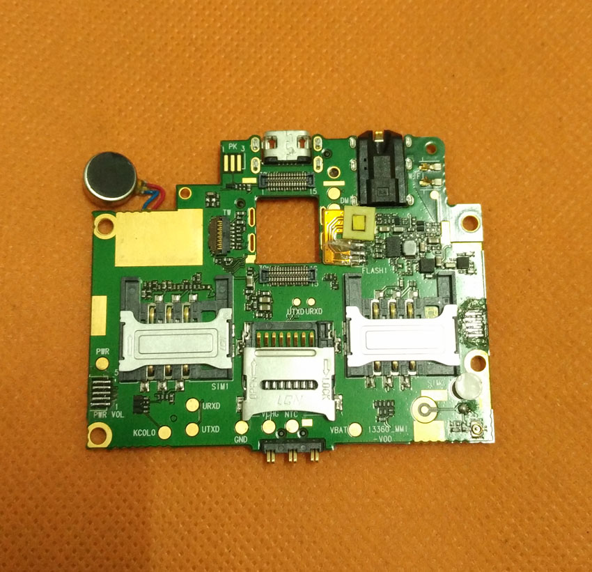 Used Original mainboard 1G RAM+8G ROM Motherboard for THL W200C HD 5.0 inch MTK6592 Octa Core Free Shipping