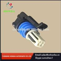 Free shipping LS IAT AEM & Haltech IAT 2 Pin Female wire harness Waterproof Auto Connector 15449027 for Delphi