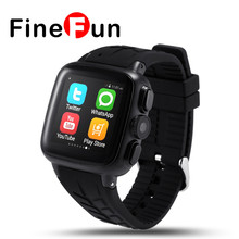 FineFun UC08 3G Android Wifi Smart Watch Phone with 3.0MP Camera Support SIM Card Smartwatch Heart Rate Monitor