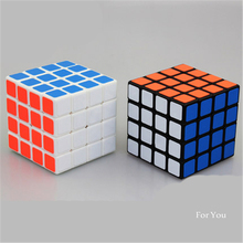 Plastic Magic 3x3x3 Cubo Cubo Mini Glowing Learning Toys Kids Adult Antistress Plastic Magic Cube Magico 50J0185