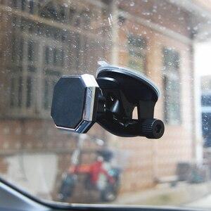 Image 5 - 調整可能な磁気カーホルダーマグネット自動車電話ホルダー 360 回転可能なスタンドマウントサポートユニバーサルフロントガラスホルダーフリーハンド