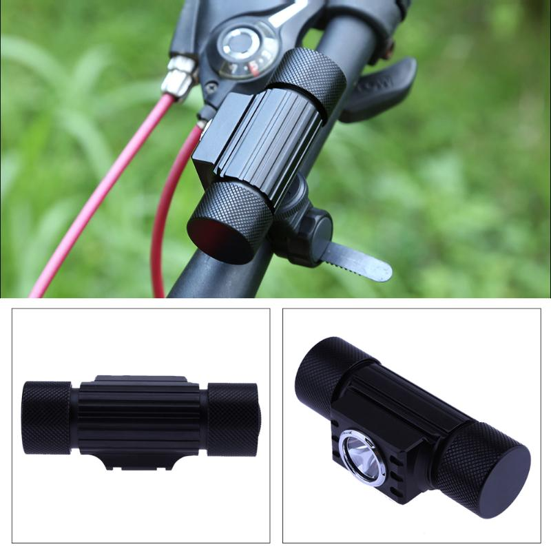 1Pcs Waterproof 500LM LED Bicycle Front Light USB Rechargeable Bike Headlight Cycling Front Rear Tail Lamp Warning Flash Light gaciron bicycle headlight rear light suite pack usb charge internal battery led front tail lamp cycling lighting visual warning