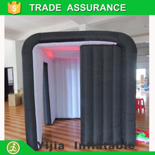New Design custom inflatable cabine tent photo booth inflatable with led light