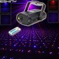 ESHINY Mini R & B полностью звездный узор DJ лазерный проектор дистанционный светильник ing Dance Disco Bar вечерние сценический светильник на Рождество ...