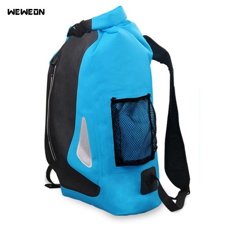 25L Sports de plein air sac sec randonnée sèche dérive sacs de natation sac à dos pour Rafting kayak étanche sac sec sac de natation