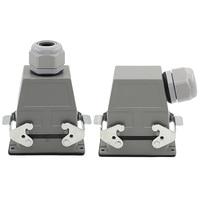 HE Aviation Plug Soket Heavy Duty connector 24 15 25 Pin HDC HDD 024 10A