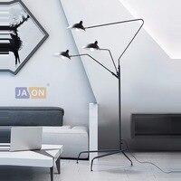 led e14 Industrial Loft Iron LED Lamp LED Light LED Floor Lamp Floor Light For Foyer Study Dinning Room Bedroom