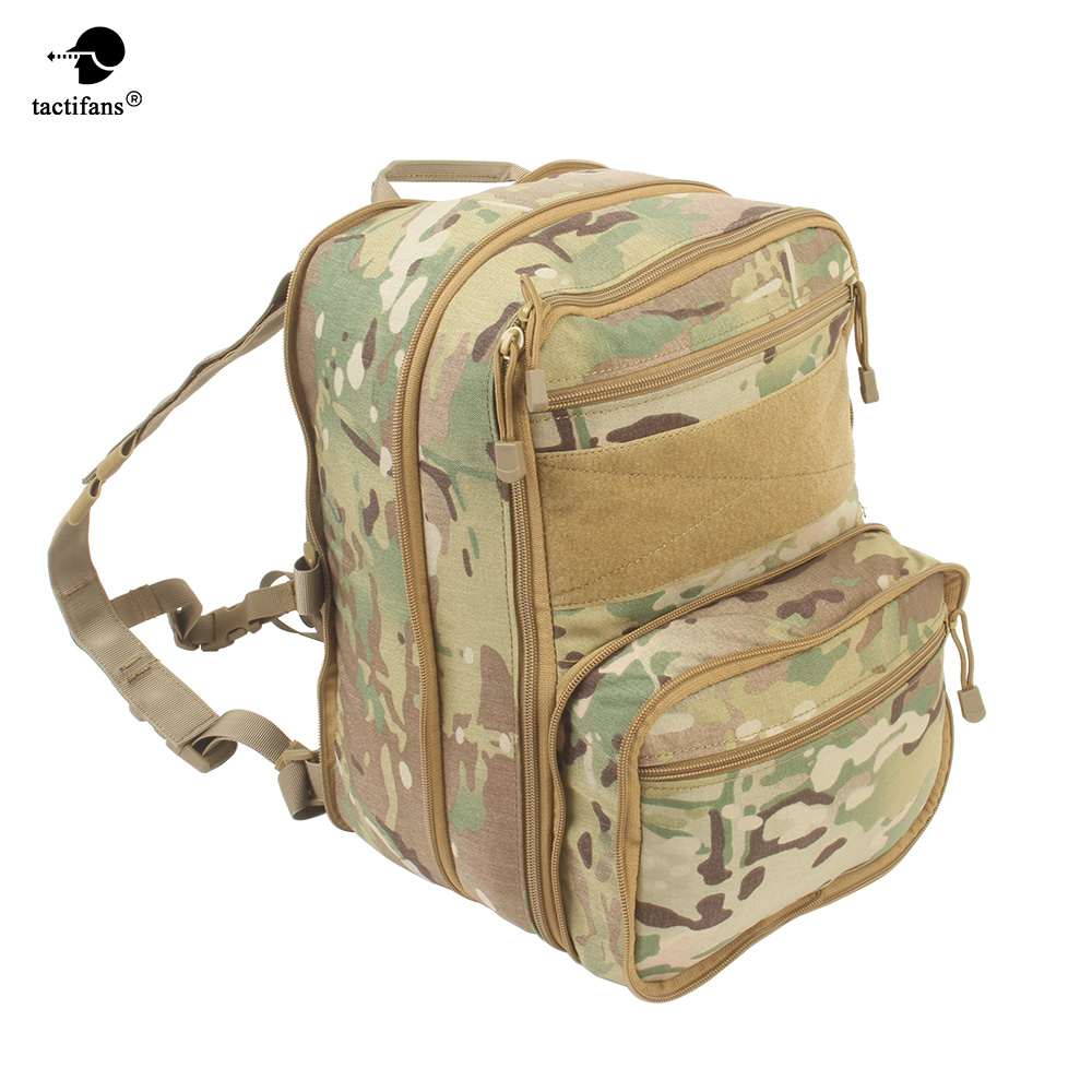 Flatpack Tactical Backpack Hydration Backpack Molle Pouch Airsoft Gear Military Multipurpose Travel Multi-purpose Shoulder Bag 35l waterproof tactical backpack military multifunction high capacity hike camouflage travel backpack mochila molle system