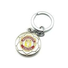 Manchester Football Club Soccer Team Logo 3D Metal Pendant Keychain Keyring Crest