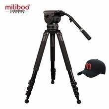 лучшая цена miliboo Professional Broadcast Movie Tripod M8DL with Fluid Head and One-Lock Two Design Load 18 kg