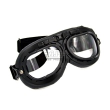 Bjmoto Motorcycle Motorbike Moto ATV Scooter bike helmet Goggles Flying Vintage cafe racer goggles