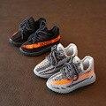 Personalidade da moda casuais fundo macio shoes para o menino da criança meninas crianças correndo burbry shoes crianças sneakers sports shoes