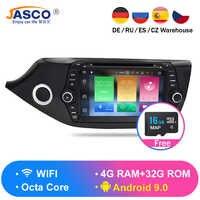 Android 9.0 8.0 lecteur DVD de voiture GPS Glonass Navigation multimédia pour Kia Ceed 2013 2014 2015 Auto RDS Radio Audio vidéo stéréo