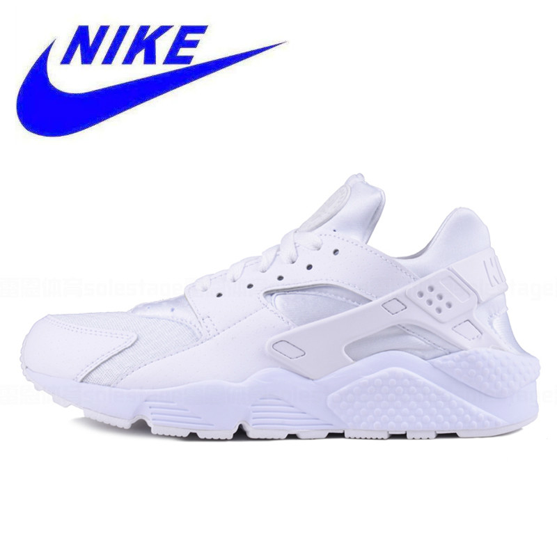 hot sale online 33b36 34b0e Original Authentic New Arrival Official Nike AIR HUARACHE RUN Men s  Breathable Running Shoes Sneakers Trainers