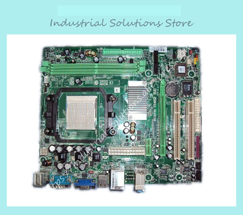цены NF61S micro am2 se c61 motherboard fully integrated small plate 100% tested working