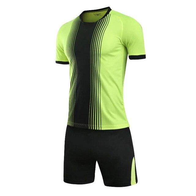 b950db609df Men survetement football jerseys team sports kit women kids soccer jersey  sets uniforms tennis shirts shorts print write custom