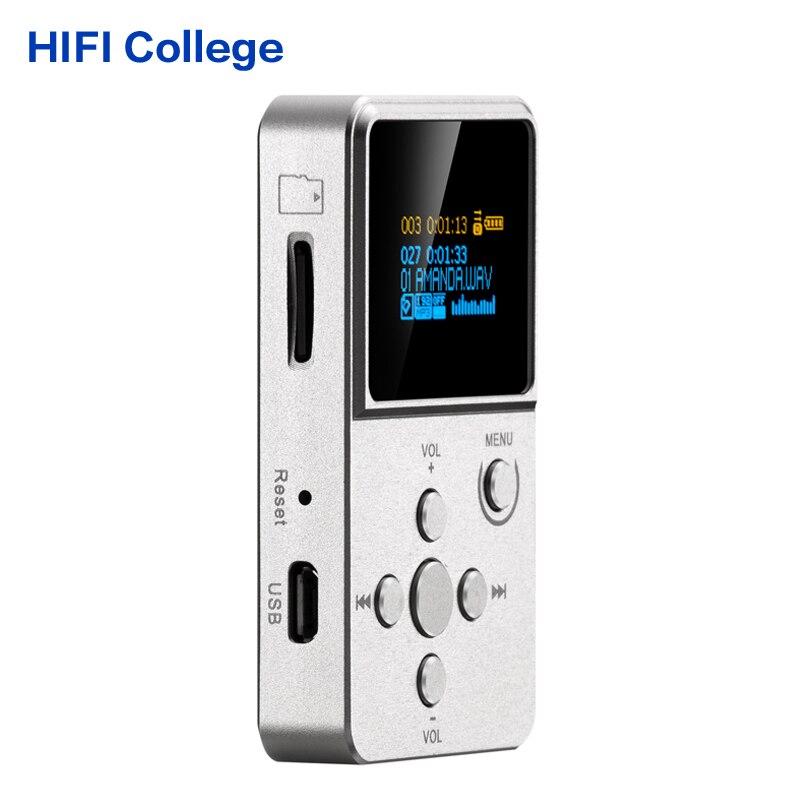 ФОТО 100% Original Professional MP3 HIFI Music Player with OLED Screen Support MP3 WMA APE FLAC WAV format