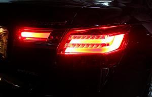 Image 4 - 2008 ~ 2012 rok tylne światło do hondy Accord taillight akcesoria samochodowe LED DRL Taillamp do światła przeciwmgielnego Accord