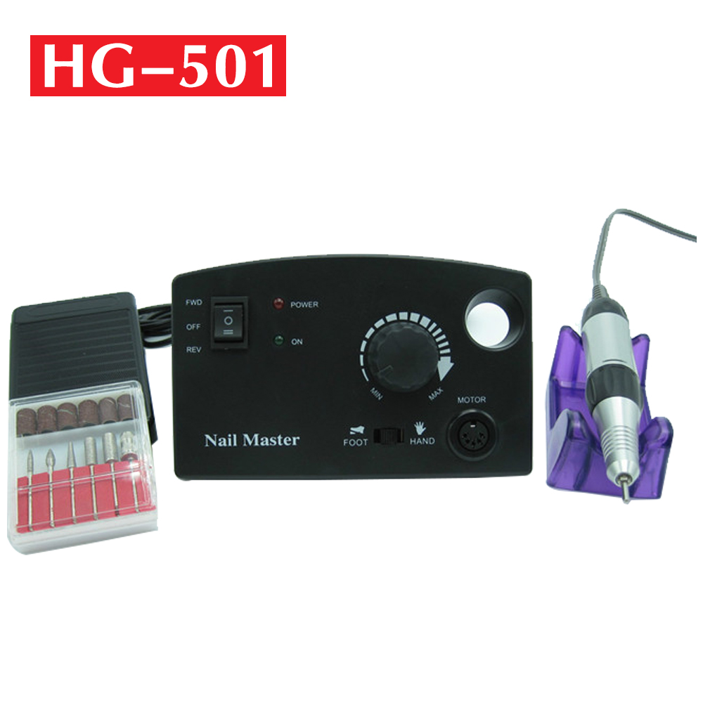 30000RPM 18W Nails Drill Grinding Drill For Manicure Polishing Machine For Removing Gel Varnish Portable Nail Milling Machine