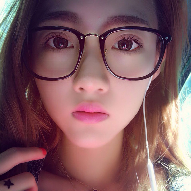2017 Fashion Brand Eyeglass Frames Women\\\\s Oversized Glasses Frame ...