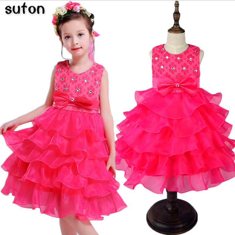 Подробнее о 2017 New Year Wedding Princess Dress for Girls Winter Formal Gown Ball Flower Kids Clothes Children Clothing Party Girl Dresses kids formal evening gown flower wedding princess dress girls children clothing kids dresses for girl clothes tutu party dress