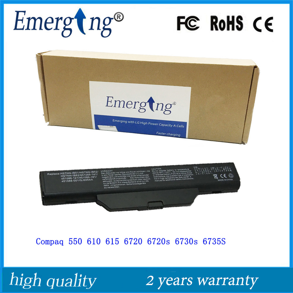 6Cells New Laptop Battery for <font><b>HP</b></font> 550 6720s 6730s 6735s <font><b>6820s</b></font> 6830s Compaq 610 image