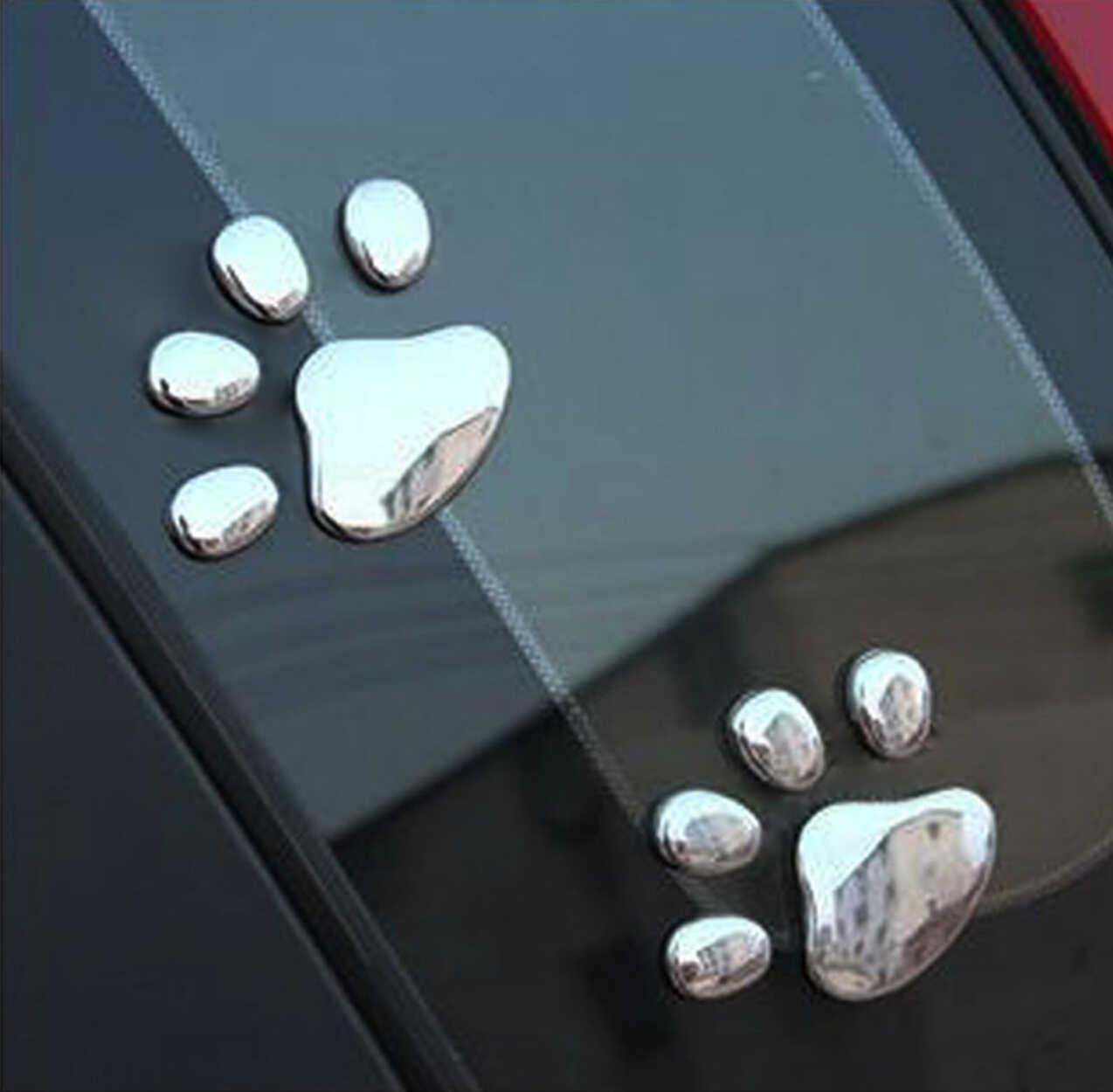 Patte Animal pied voiture autocollant pour Nissan 370z honda grom mercedes benz bmw x3 mini cooper s r56 ford emblème bmw keychai