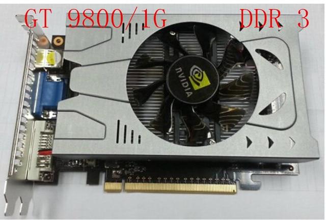 New GeForce 9800GT 1GB 128BIT DDR3 Video Card Graphics DVI HDMI VGA PCI E16X