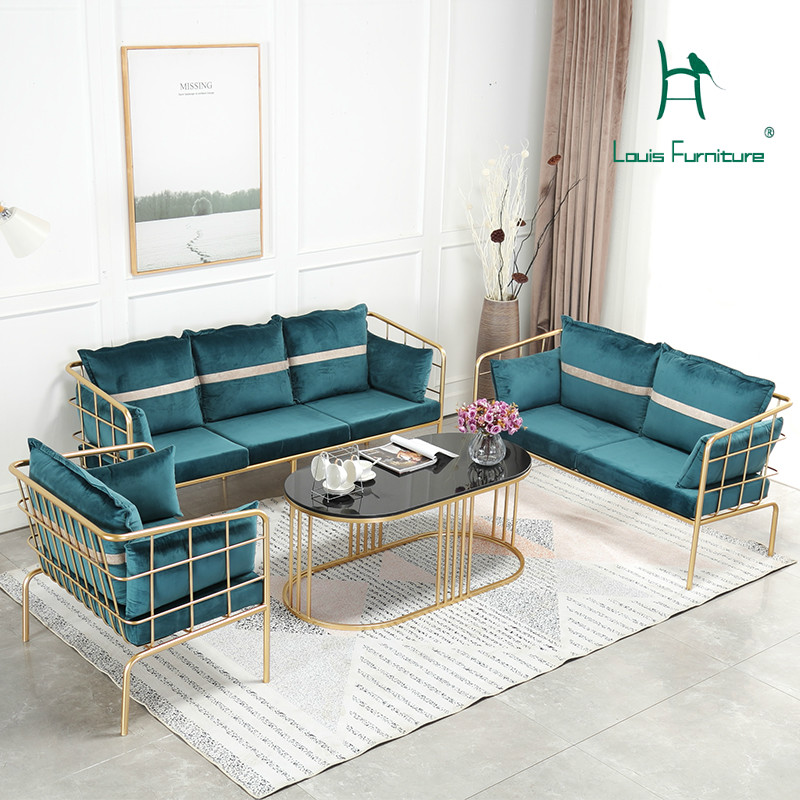 Living Room Furniture St Louis: Louis Fashion Living Room Chairs Nordic Minimalist