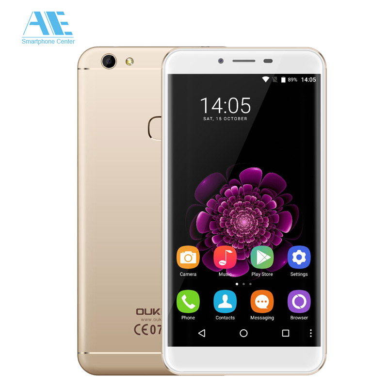 Цена за Оригинал Oukitel U15S MT6750T Окта основные Android 6.0 Отпечатков Пальцев 4 ГБ RAM 32 ГБ ROM 5.5 Дюймов 1920X1080 P 4 Г FDD LTE Mobile телефон