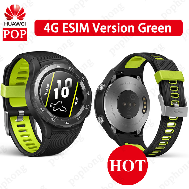 Huawei Watch NFC Bluetooth IP68 Android-Ios Waterproof Original 2-Sport 4G SIM-4G-LTE-OPTIONAL