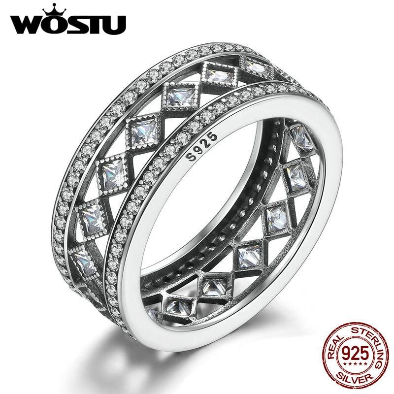Hohe Qualität Echt 925 Sterling Silber Vintage Faszination Ring Für Frauen Mode S925 Luxus Marke Schmuck Geschenk Xch7601 HöChste Bequemlichkeit Schmuck & Zubehör