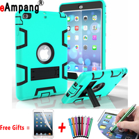 For Apple IPad Mini 4 7 9 Inch Case Cover Shockproof Heavy Duty Rubber Armor Three